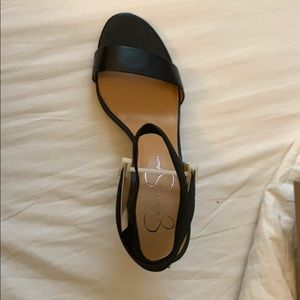 Jessica Simpson siesto black sandals size 7